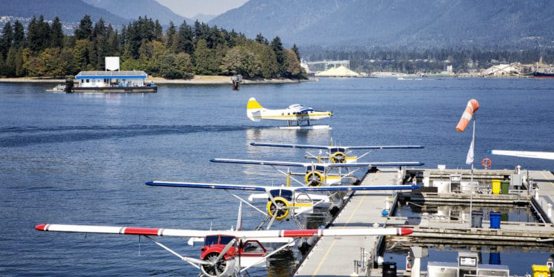 Depart Vancouver Harbour in Our Chartered Flight